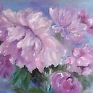 Pinkish Peonies by Marie Theron