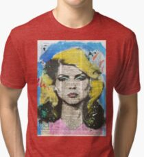 Debbie Harry Tri-blend T-Shirt