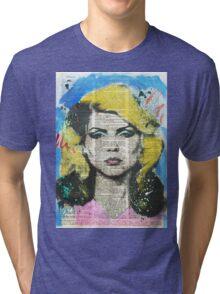 Debbie Face Tri-Blend T-shirt