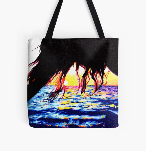 Chase the sun All Over Print Tote Bag