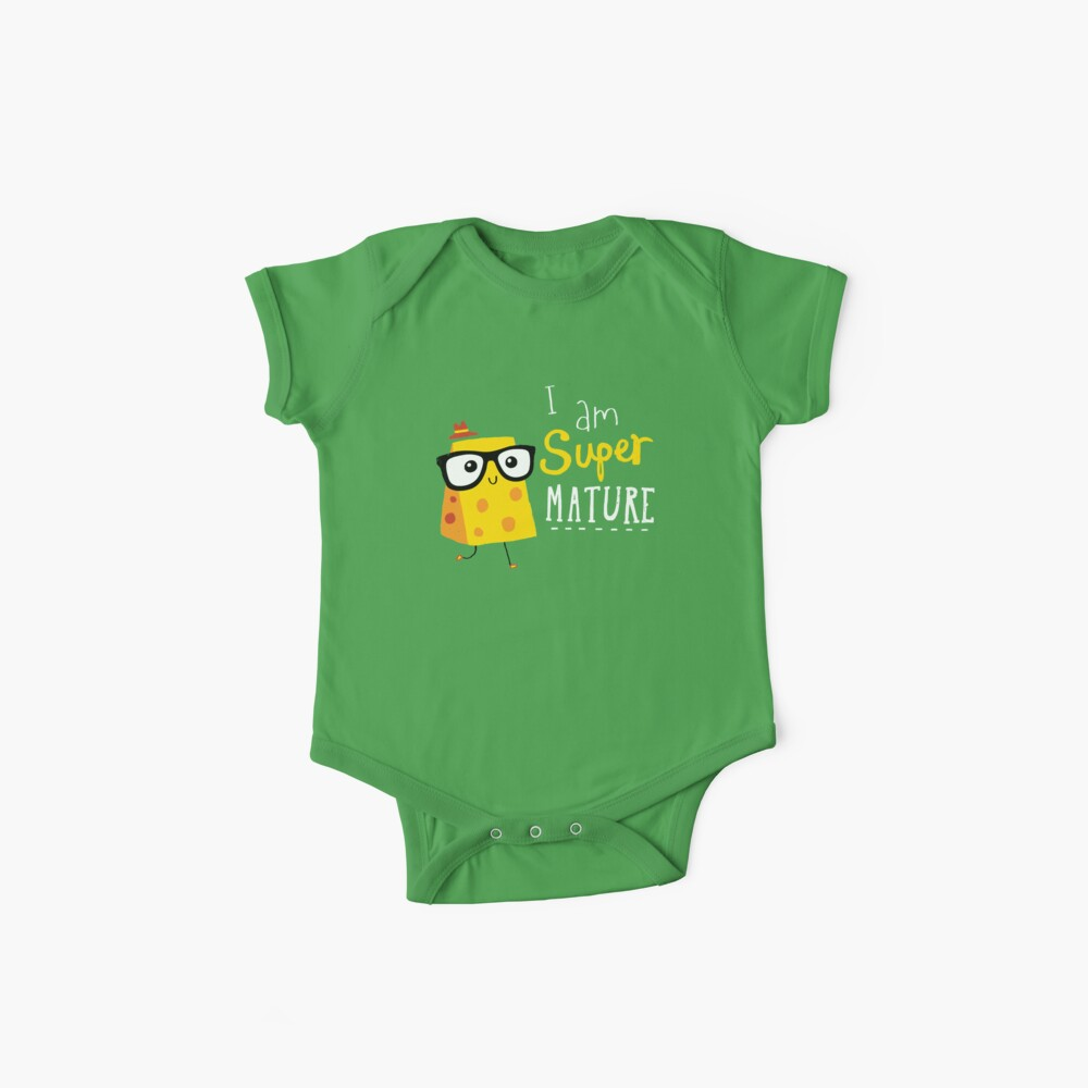 Super Mature Baby One-Piece