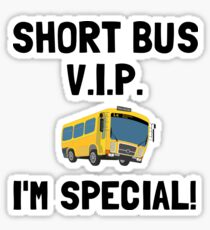 Short Bus VIP Sticker