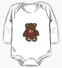 Teddy Bear One Piece - Long Sleeve