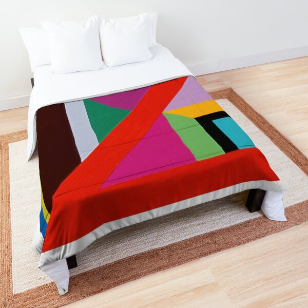Modern Geometric Designs on everything Comforter