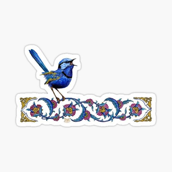 Splendid Fairy Wren Sticker