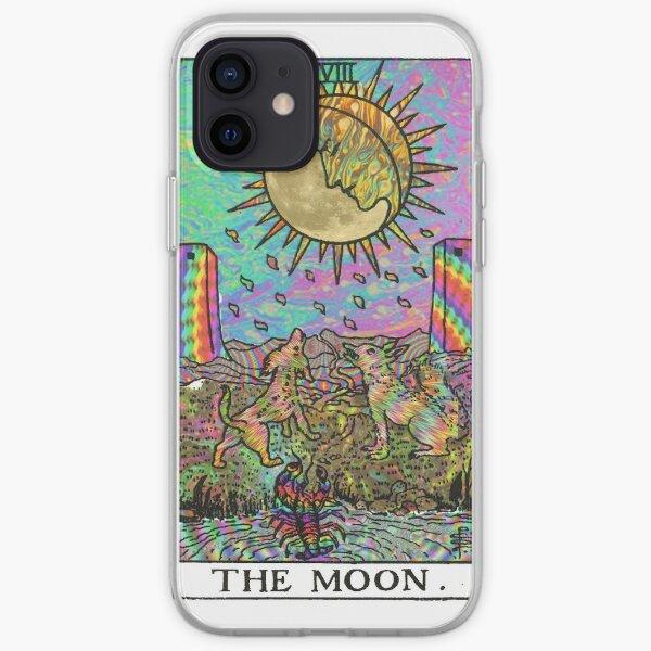 Psychadelic Tarot - Der Mond iPhone Flexible Hülle