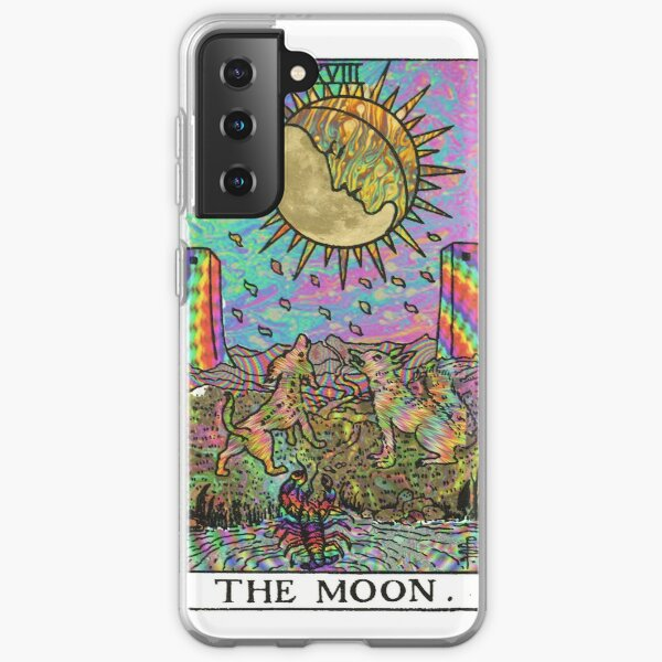 Psychadelic Tarot- The moon Samsung Galaxy Soft Case