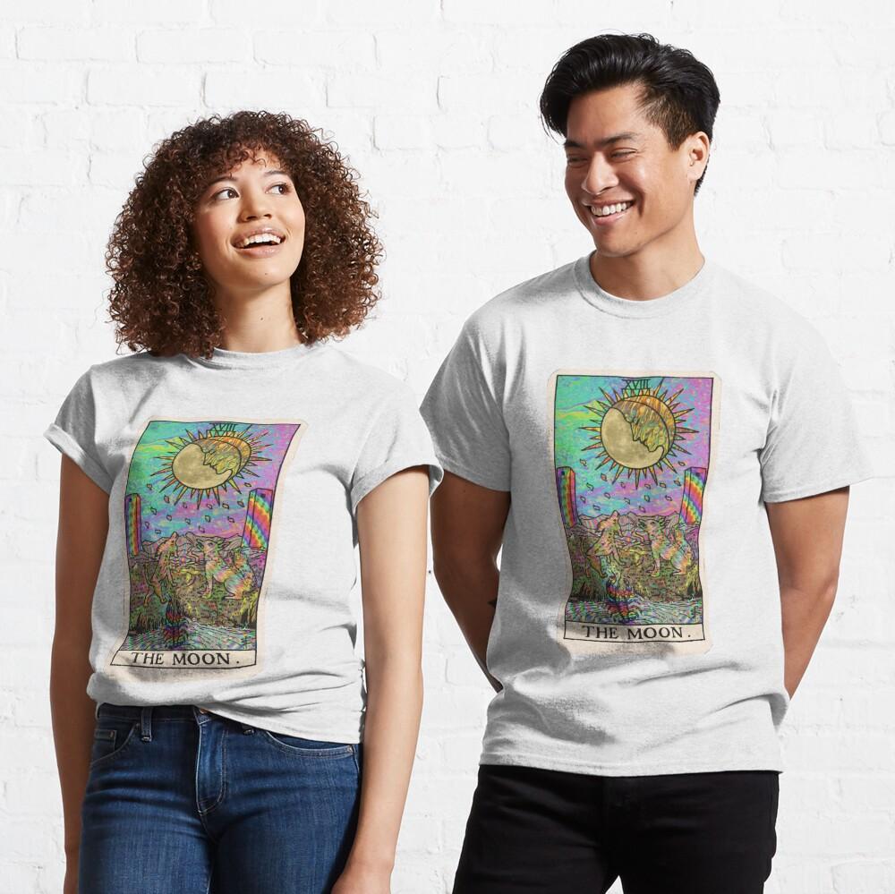 Psychadelic Tarot- The moon Classic T-Shirt