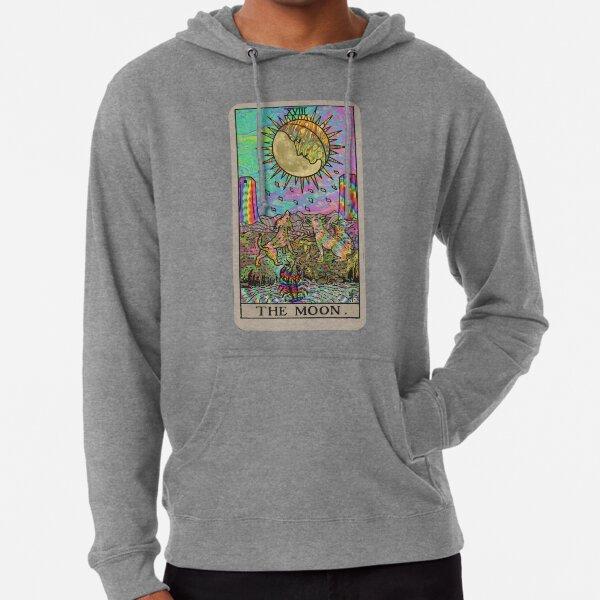 Psychadelic Tarot- The moon Lightweight Hoodie