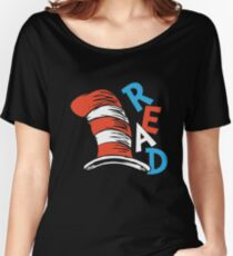 READ ACROSS AMERICA DAY  Women's Relaxed Fit T-Shirt
