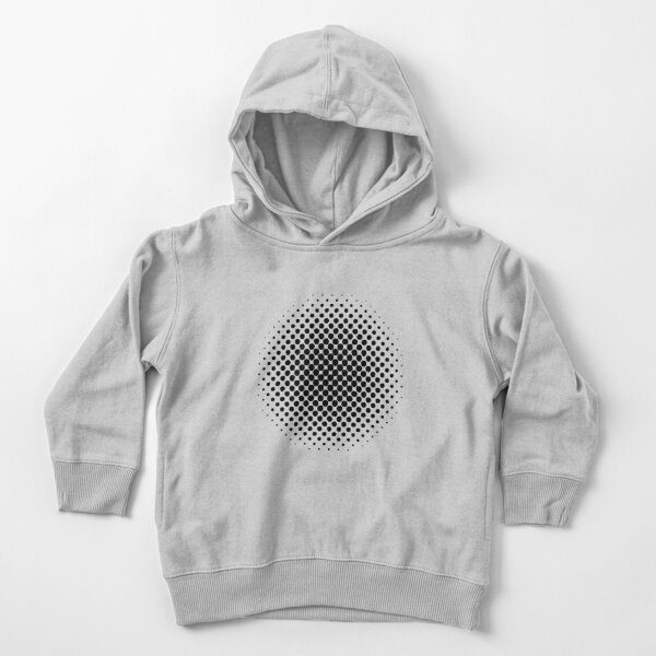 Point Symmetry Halftone Image Toddler Pullover Hoodie