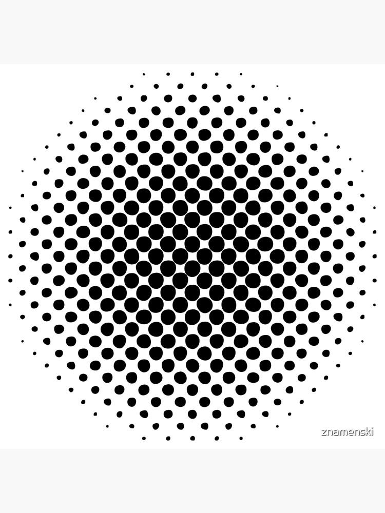Point Symmetry Halftone Image by znamenski