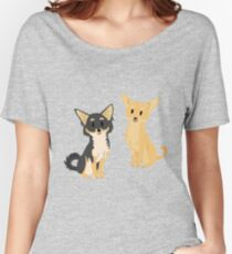 Cheeky Chihuahua Women's Relaxed Fit T-Shirt