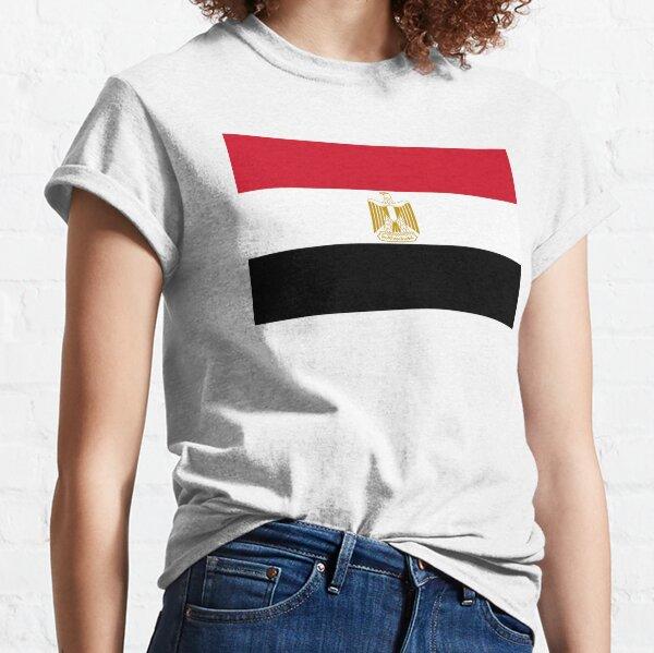 EGYPT. EGYPTIAN. Egyptian Flag, Flag of Egypt, Sinai Peninsula. Classic T-Shirt
