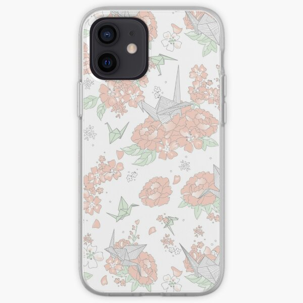 Origami Floral iPhone Soft Case