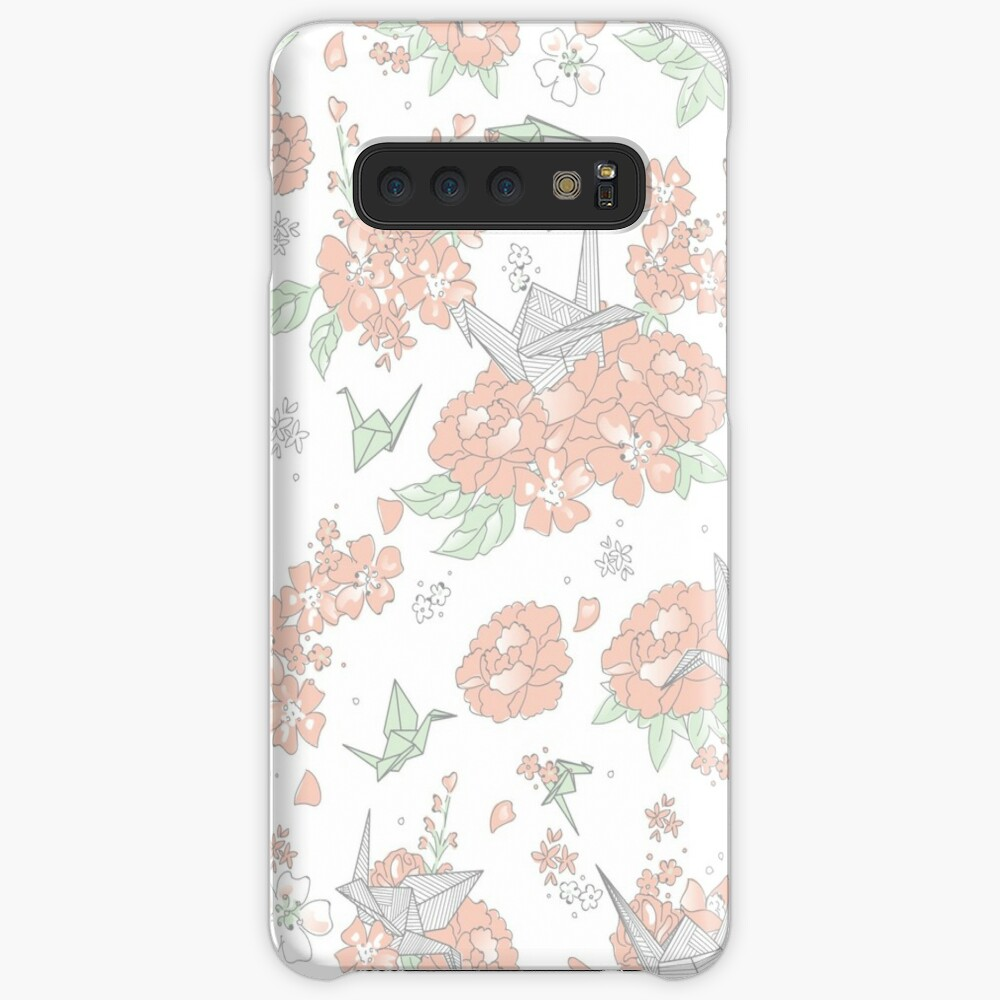 Origami Floral Case & Skin for Samsung Galaxy