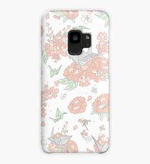 Origami Floral Case/Skin for Samsung Galaxy