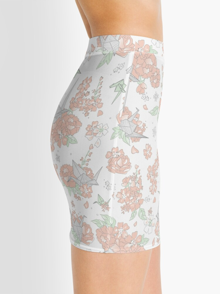 Alternate view of Origami Floral Mini Skirt