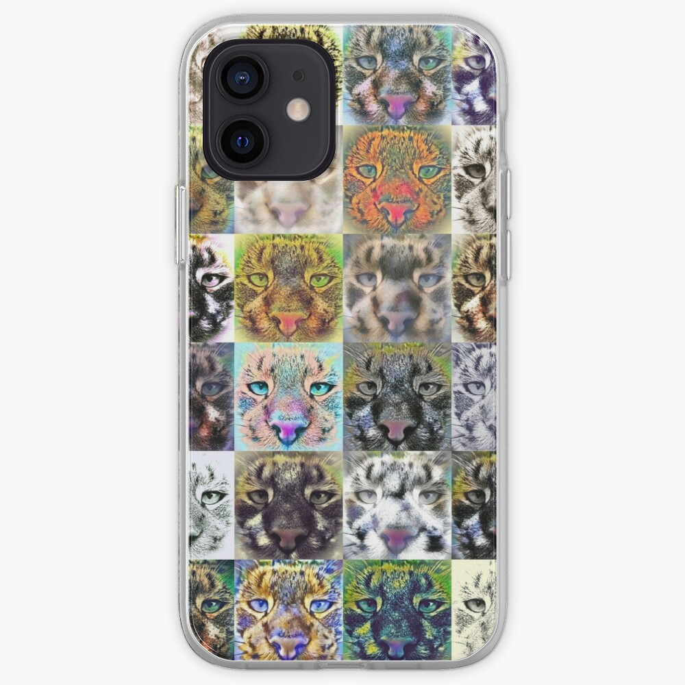 Artificial neural style wild cat iPhone Case & Cover