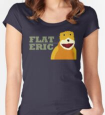 Flat Eric  Women's Fitted Scoop T-Shirt
