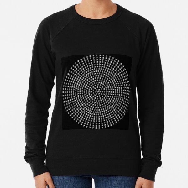 Radial Dot Gradient Lightweight Sweatshirt