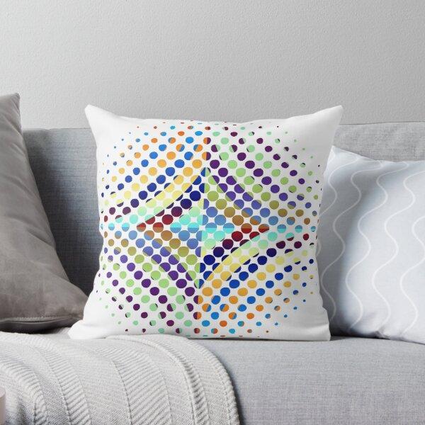 Copy of Radial Dot Gradient Throw Pillow