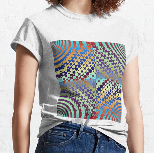 Radial Dot Gradient Classic T-Shirt