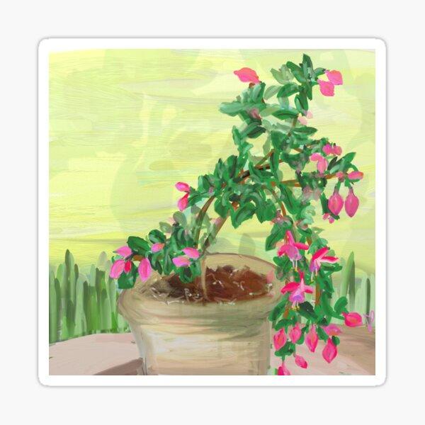 Fuchsia Sticker