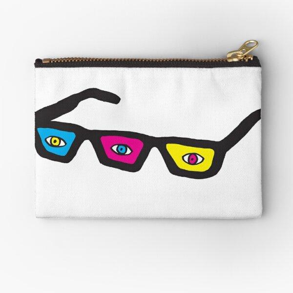 Eyeball Party Logo Zipper Pouch