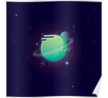Green planet Poster