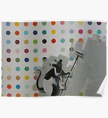 Banksy Does Damien Hirst Poster