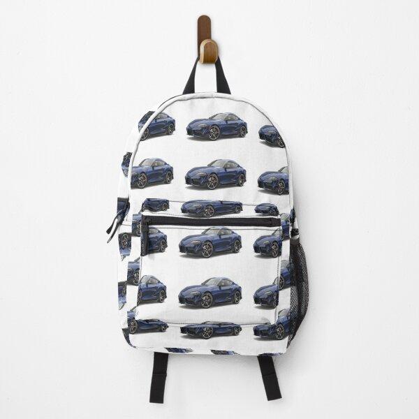 2020 Toyota Supra Downshift Blue Backpack