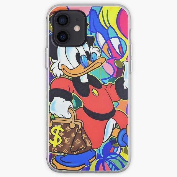 Scrooge McDuck Pop Art iPhone Soft Case