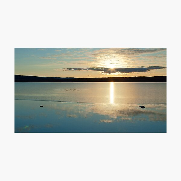 Lochindorb Sunset Photographic Print