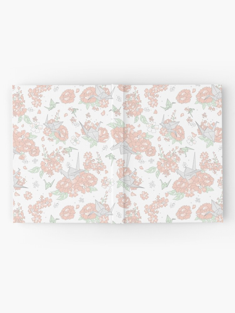 Alternate view of Origami Floral Hardcover Journal