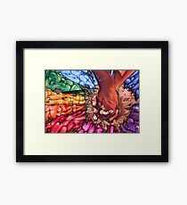 Diverse Graffiti Framed Print