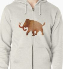 Aquarell Mammoth Zipped Hoodie