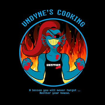 Undyne's Cooking by ZARIAA