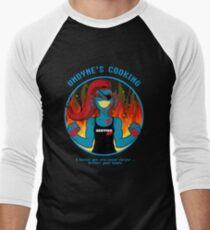 Undyne's Cooking Men's Baseball ¾ T-Shirt