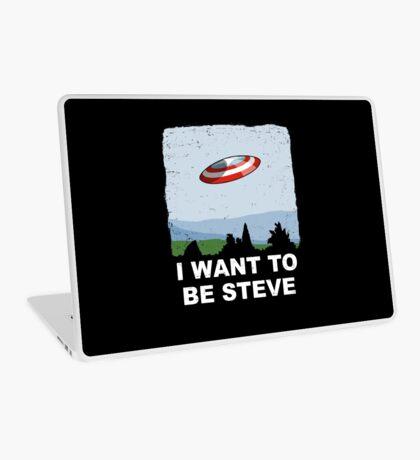 I Want To Be Steve Laptop Skin