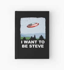 I Want To Be Steve Hardcover Journal