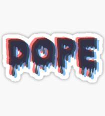 Dope 3D  Sticker