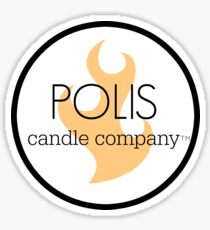 Polis Candle Company  Sticker