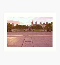 Philadelphia Kunstdruck
