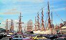 Tall Ships - Brooklyn by John Schneider
