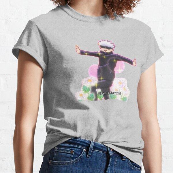 gojou satoru te matará Camiseta clásica