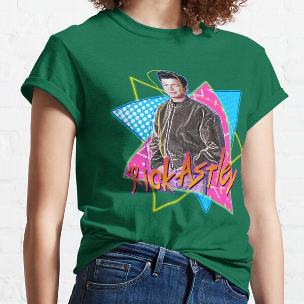 Rick Astley Never Gonna Get Any Cooler FanArt Tribute Classic T-Shirt