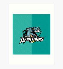 Liege leviathans quidditch - logo Art Print