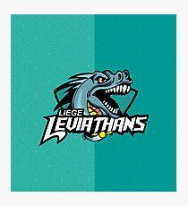 Liege leviathans quidditch - logo Photographic Print