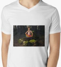 Ballerina Men's V-Neck T-Shirt